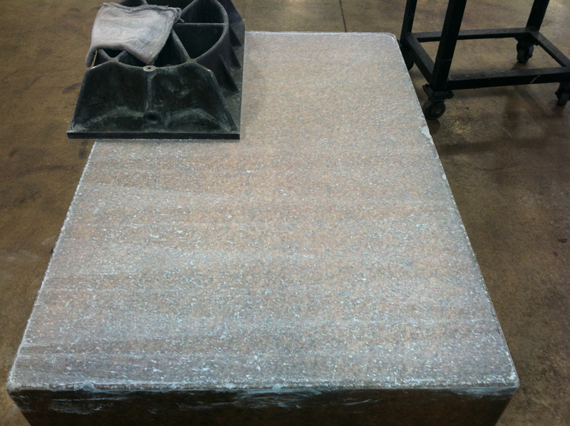 Calibration And Resurfacing Service Of Granite Surface